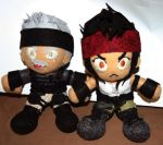 Starship - Taz and Commander Up Plushies by niitsvee