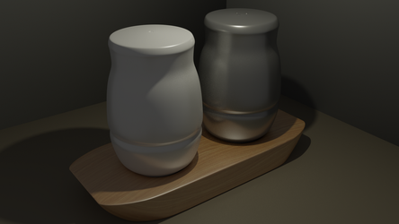 Salt + Pepper by TallPaul3D