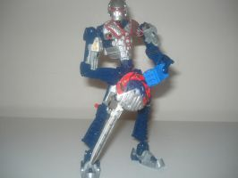 Bionicle - Kamen Rider Blade by andrell