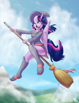 Little Witch Twilight by Punk-Pegasus