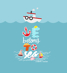 we belong to sea by PoohTham2905