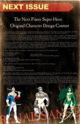 Character Design Contest by manilacomic-con