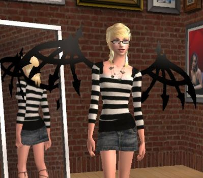 The Sims 2 and TWEWY Reaper... by KimberlyNiccals