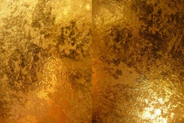 Gold Metallic Texture III by Melyssah6-Stock