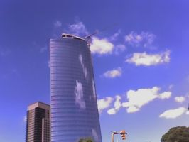 Buildings and Clouds... by JoRgE-1987