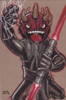 Lil Dude Darth Maul by MARR-PHEOS