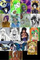 missing ACEO Cards Part 2 by Lulana