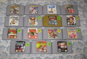 My N64 Collection at the moment by T95Master