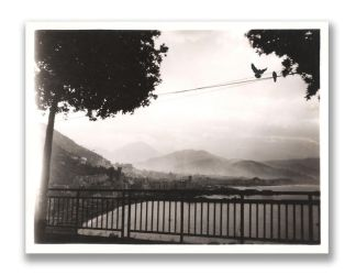 Salerno, Italy w/ Mt Vesuvious in background) 1944 by DocSonian