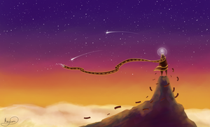 The journey above the clouds by May-Lene