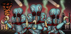 Metaluna Mutants by vonblood