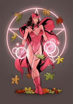 Scarlet Witch - Autumn by Almayer