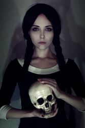 Wednesday Addams by Helen-Stifler