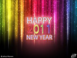 Happy New Year 2011 by jelloul
