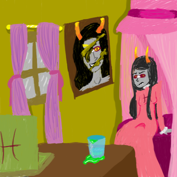 Meenah's room by Random2U