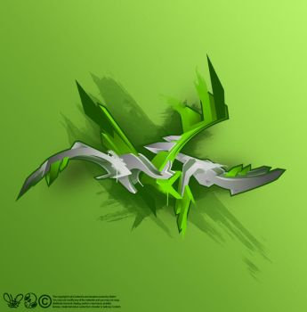 green stroke by SektrOne