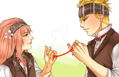 Naruto: Red String of Fate by Kaleta