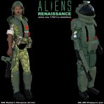 Aliens: Colonial Marines - Updated Armor by STLegends
