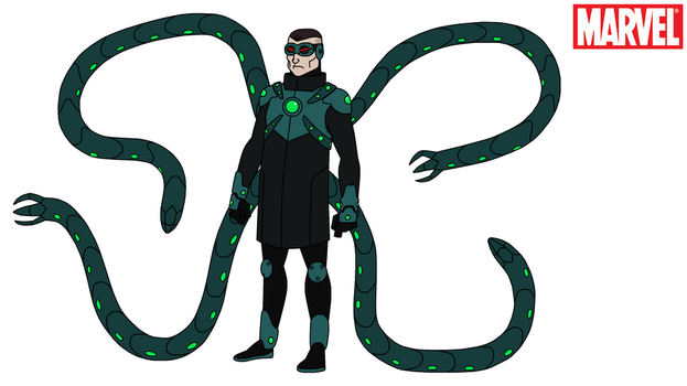 Marvel - Doctor Octopus 2017 #2 by HewyToonmore