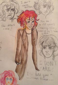 Tonks confronting Remus by PixieBrush
