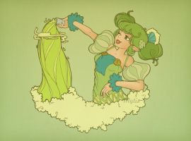 Farore's courage absinthe by Mytis