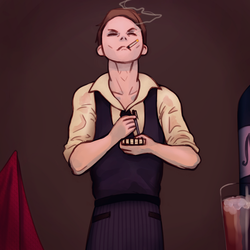 Waiter by Miskeey