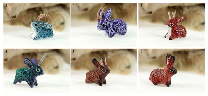 January jackalopes set by hontor