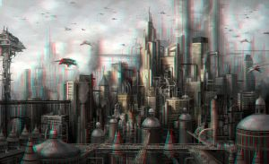 Future City 3-D conversion by MVRamsey