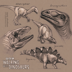 Walking With Dinosaurs fan art by oxpecker