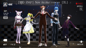 [MMD|FNAF 2] New Animatronics [DL] by DefectDoll-Misao