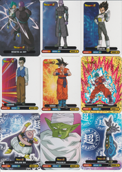 Italian Lamincard 2018 DragonBall Super by 19onepiece90