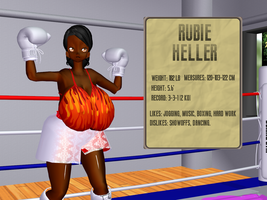 Rubie Heller by bbBoxing14