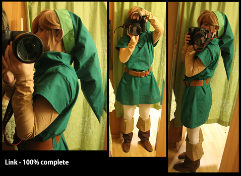 Link - Oracle of seasons/Ages 100% complete by Grethe--B