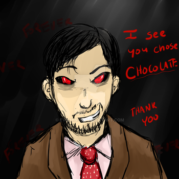 I knew chocolate was bad by evilmind2