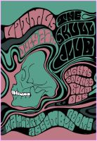 The Skull Club - Flyer One by Inky-la-reve
