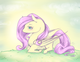 panic attack pony by PlasticRabbits