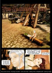 DAO: The Hahrens Quest ch1pg1 by SoniaCarreras