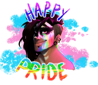 Happy Pride !! by Loopy44