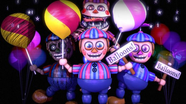 [sfm fnaf] Balloon boy Generation by TrapSfm2018