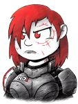 Angry Shepard by drakefenwick