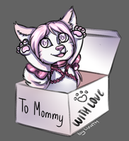 To Mommy by lizathehedgehog