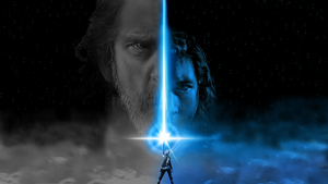 Star Wars The Last Jedi [Wallpaper] Grey and Blue by Redberry5291