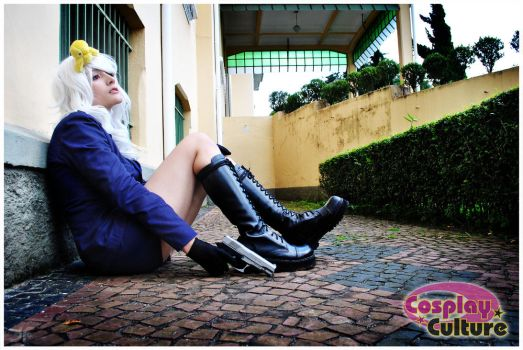 Hetalia-Prussia Alone by cosplayculture