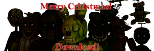 Cinema4D Five Nights at Freddy's 3 Pack DOWNLOAD!! by GaboCOart