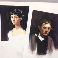 Sargent Studies by ZaraAlfonso