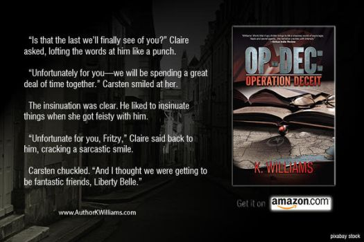 OP-DEC: Operation Deceit Promo 2 by KWilliamsPhoto