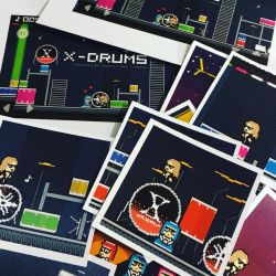 X-Drums Cards! by X-Drums