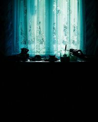 The Blue Window by radoslavus