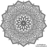 Krita Mandala 37 by WelshPixie