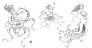 Seahag sketches by KROKDK
